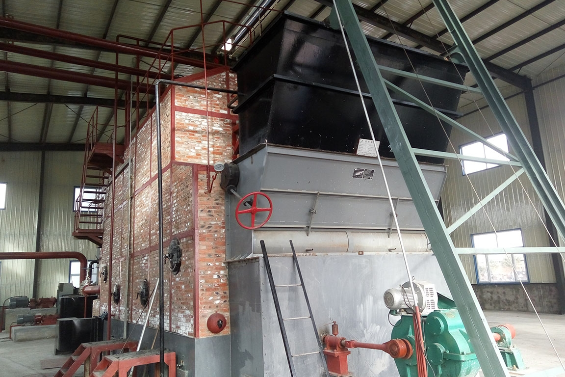 Pipe type boiler with combined thread and pipe